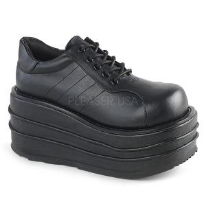 Vegan 9 cm TEMPO-08 Platform Mens Gothic Shoes