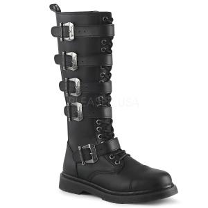 Vegan BOLT-425 demonia boots - unisex combat boots