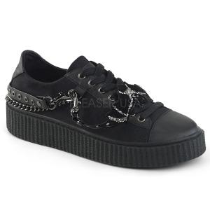 canvas 4 cm SNEEKER-112 sneakers creepers sko til menn