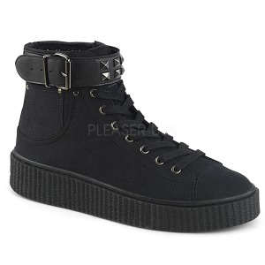 canvas 4 cm SNEEKER-255 sneakers creepers sko til menn