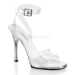 gjennomsiktig 11,5 cm GALA-06 høyhælte stiletter sko