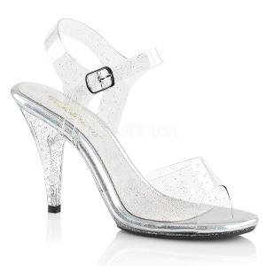 glitter 10 cm Fabulicious CARESS-408MMG dame sandaler med hæl