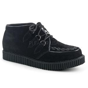 kunstlær 2,5 cm V-CREEPER-662 platå creepers sko til menn