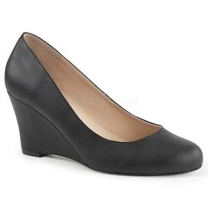 kunstlær 7,5 cm KIMBERLY-08 store størrelser pumps sko