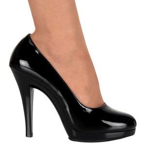 lakklær 11,5 cm FLAIR-480 høye damesko med hæl