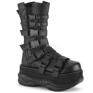 vegan 7,5 cm NEPTUNE-210 demonia støvler - unisex platåstøvler