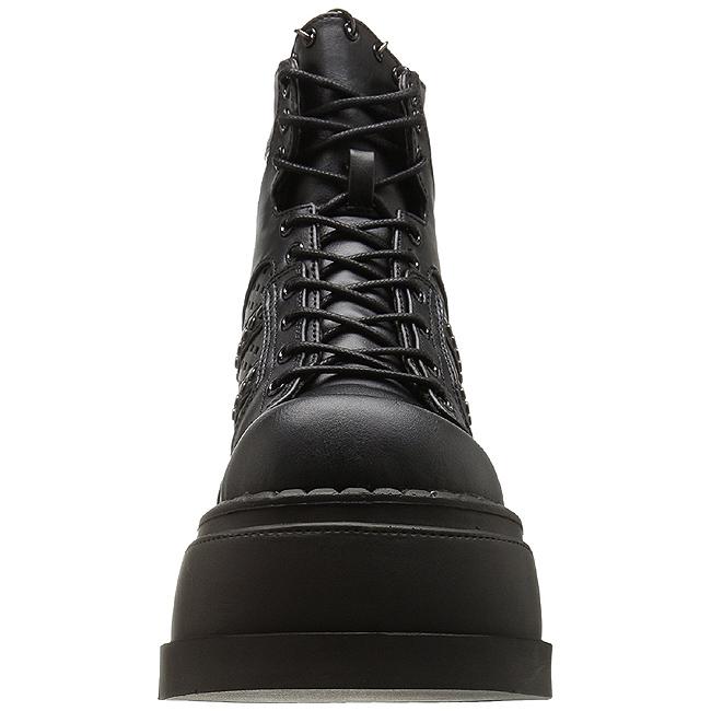 e46d3e2d116336 Black 12 cm STOMP-12 lolita shoes gothic wedge platform shoes