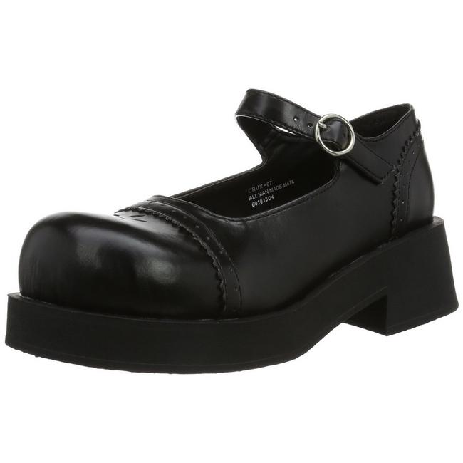 262e1891d50 Black 5 cm CRUX-07 lolita shoes gothic womens platform shoes