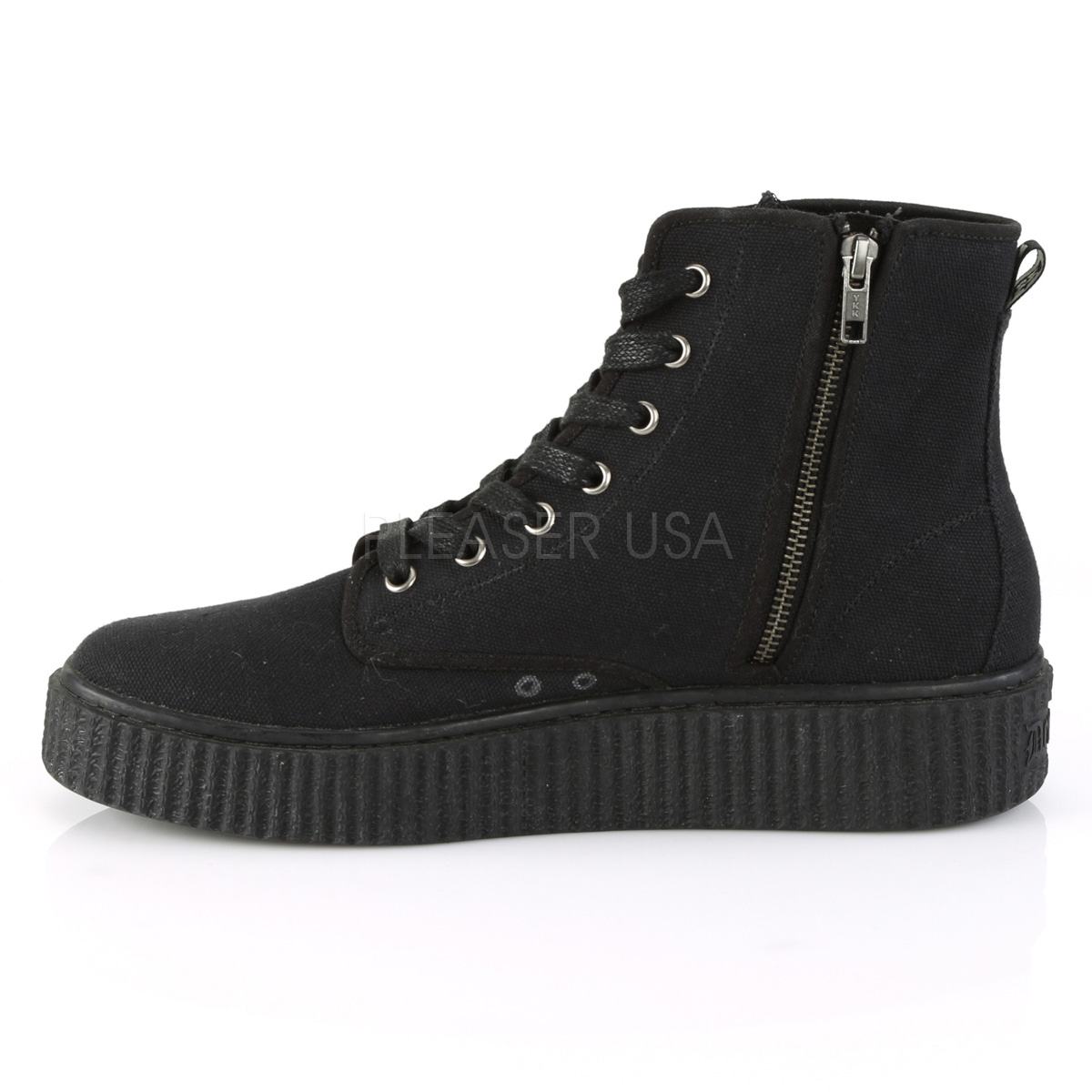 Canvas 4 cm SNEEKER 201 Mens sneakers creepers shoes