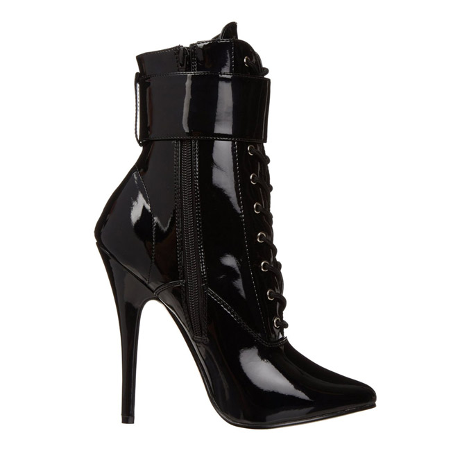 357d2c5a0464ce Fetish Ankle Calf Boots 15 cm DOMINA-1023