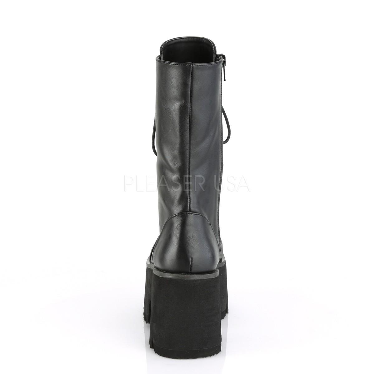 20cef9ec4b80 Vegan 9 cm Demonia ASHES-105 goth platform boots