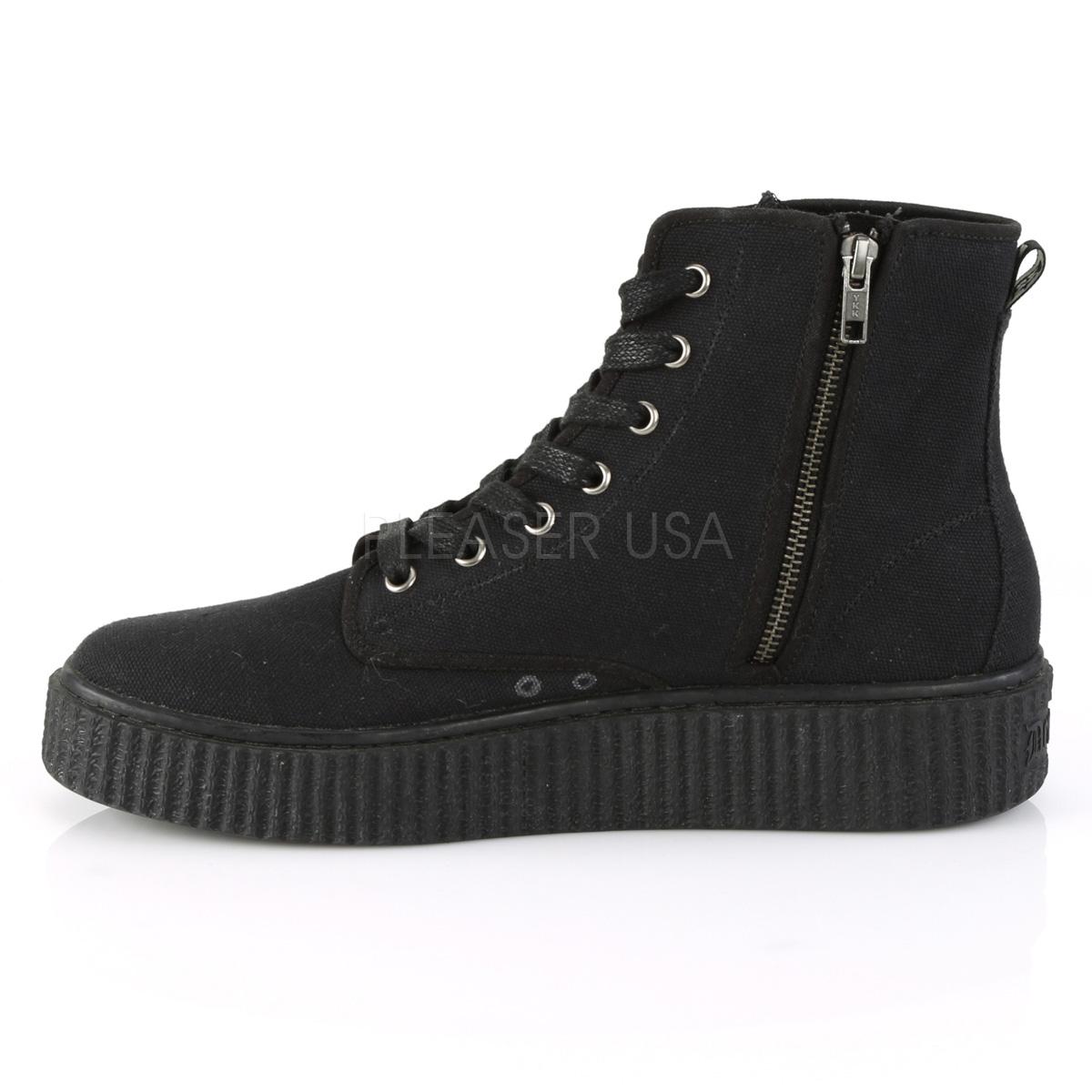 canvas 4 cm SNEEKER 201 sneakers creepers sko til menn
