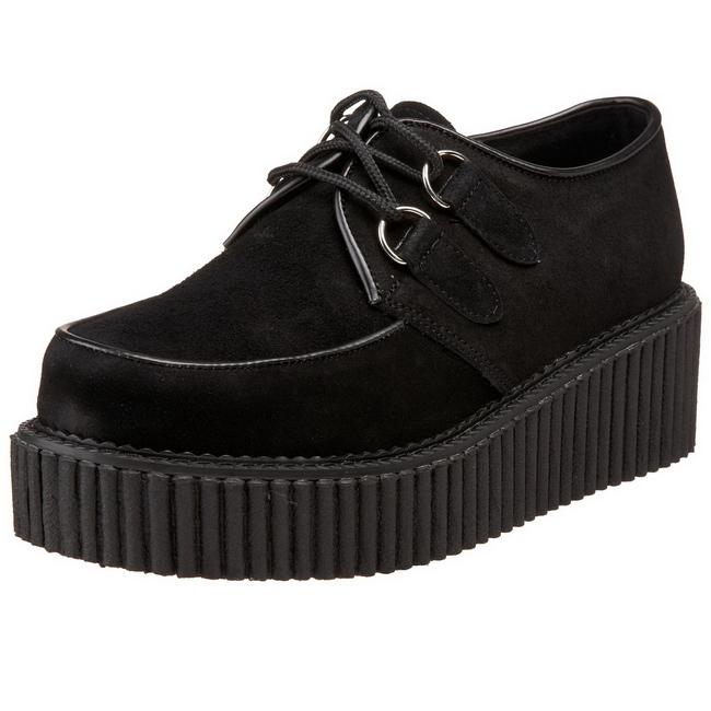 5 suede tykke cm dame creepers såler sko platåsko CREEPER 101 UzSMVp