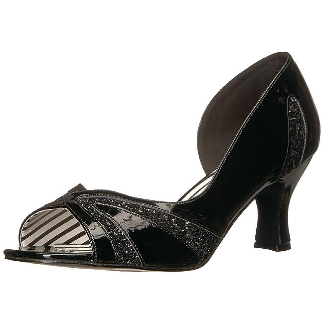 rød lakklær 7,5 cm JENNA 03 store størrelser pumps sko