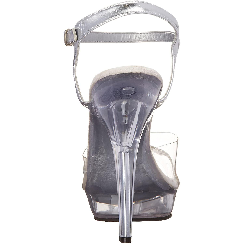 transparent 13 cm LIP 108R høye hæler poseringssko bikinifitness
