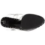 Black 18 cm Pleaser ADORE-708LS High Heels Platform