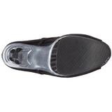 Black Vinyl 16,5 cm ILLUSION-1021 womens ankle boots platform