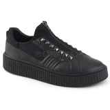 Canvas 4 cm SNEEKER-125 Mens sneakers creepers shoes