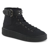 Canvas 4 cm SNEEKER-255 Mens sneakers creepers shoes