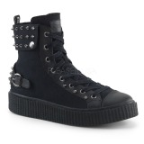 Canvas 4 cm SNEEKER-266 Mens sneakers creepers shoes