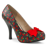Cherry Pattern 11,5 cm PINUP-05 big size pumps shoes