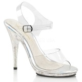 Glitter 12,5 cm Fabulicious POISE-508MG high heeled sandals