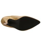 Gold Matte 13 cm SEDUCE-420 Pumps High Heels for Men