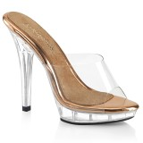 Gold Rose 13 cm LIP-101 høye hæler poseringssko bikinifitness