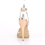 Gold Rose 15 cm Devious DOMINA-108 high heeled sandals