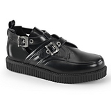 Leather 2,5 cm CREEPER-615 Platform Mens Creepers Shoes