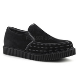 Leatherette 2,5 cm V-CREEPER-607 Platform Mens Creepers Shoes