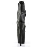 Leatherette 20 cm FLAMINGO-1020 womens platform soled ankle boots
