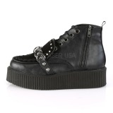 Leatherette 5 cm CREEPER-555 Platform Mens Creepers Ankle Boots