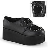 Leatherette 7 cm GRIP-02 lolita shoes gothic platform shoes