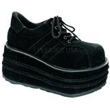 Leatherette 9 cm TEMPO-08 Platform Mens Gothic Shoes