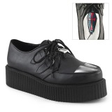 Leatherette V-CREEPER-515 Platform Mens Creepers Shoes