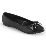 Leatherette VAIL-01 flat ballerinas womens shoes