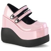 Patent 13 cm VOID-37 alternative shoes platform rose
