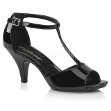 Patent 8 cm Fabulicious BELLE-371 high heeled sandals