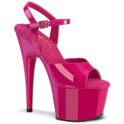 Pink platform 18 cm ADORE-709 pleaser high heels shoes