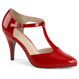Red Patent 10 cm DREAM-425 big size pumps shoes