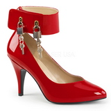 Red Patent 10 cm DREAM-432 big size pumps shoes