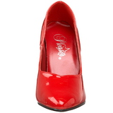 Red Varnished 10 cm DREAM-420 high heel pumps classic