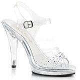 Rhinestones 11,5 cm FLAIR-408SD transvestite shoes