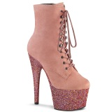 Rose glitter 18 cm ADORE-1020FSMG Exotic pole dance ankle boots