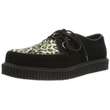 Suede 2,5 cm CREEPER-600 Platform Mens Creepers Shoes