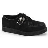 Suede 2,5 cm CREEPER-605 Platform Mens Creepers Shoes