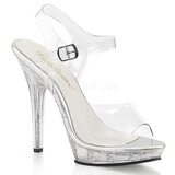 Transparent 13 cm LIP-108MG Womens Shoes with High Heels