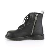 Vegan BOLT-100 demonia ankle boots - unisex combat boots