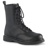 Vegan BOLT-200 demonia ankle boots - unisex combat boots